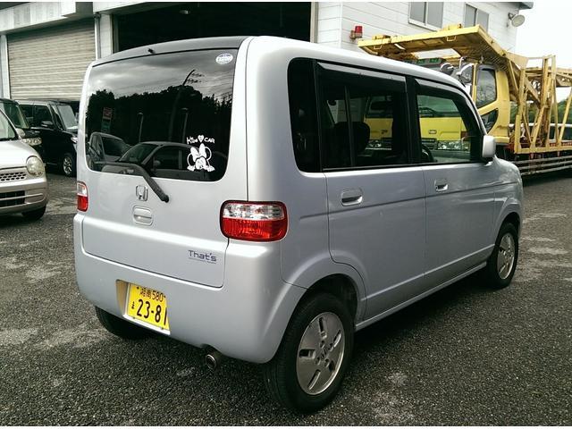 「ホンダ」「ザッツ」「コンパクトカー」「栃木県」の中古車3