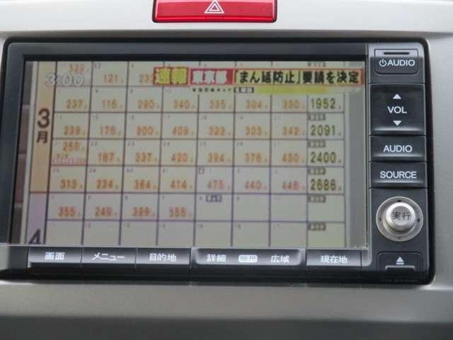 G エアロ ハイウェイエディション 純正HDDナビ フリップダウンモニター(9枚目)