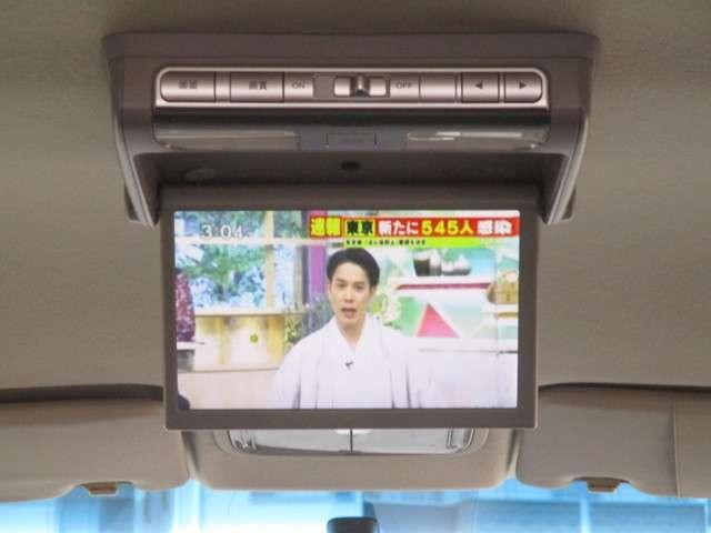 G エアロ ハイウェイエディション 純正HDDナビ フリップダウンモニター(12枚目)