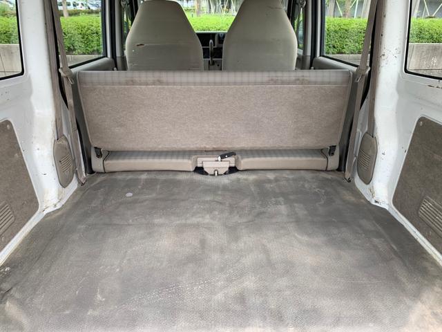PA 4WD ハイルーフ 荷室木張り 両側スライドドア エアコン パワーステアリング(16枚目)