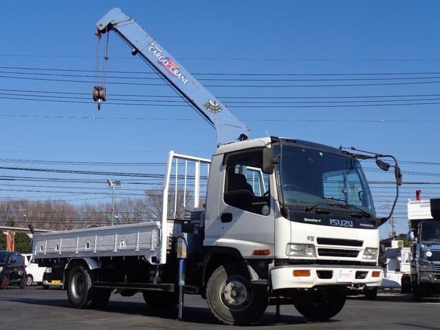タダノ3段クレーン ZR303 荷台再塗装 ワイヤー新品交換(3枚目)