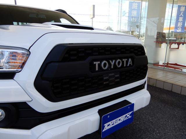ダブルキャブ TRDスポーツ プレミアム 新車 2021y サンルーフ レザー アップルカープレイ(26枚目)