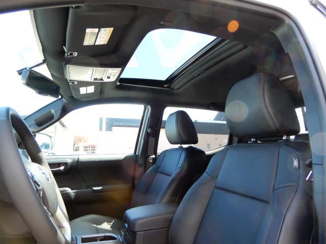 ダブルキャブ TRDスポーツ プレミアム 新車 2021y サンルーフ レザー アップルカープレイ(28枚目)