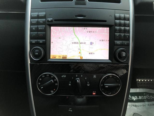 B170 リミテッドブラック 純正ナビ HIDヘッドライト ハーフレザーシート 純正アルミホィール ETC DVD再生 Bluetooth機能 クルーズコントロール オートライト バックフォグランプ 前後クリアランスソナー装着(12枚目)
