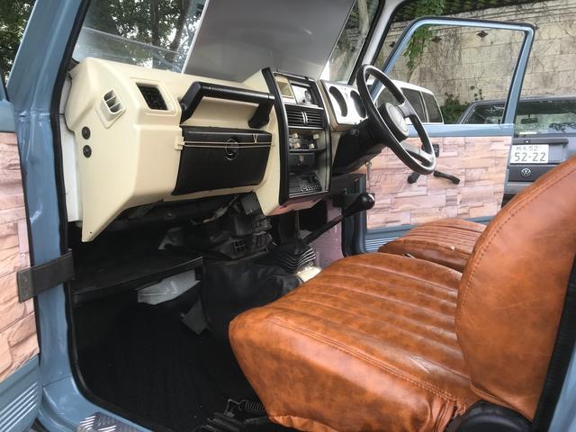 HA 全塗装仕上げ済み フロアマット新品 社外革調シート ワンオーナー 4WD 記録簿 車検令和5年6月まで 内張・内装仕上げ済み マフラー加工済み ステップピラー装着済み オートハブ車両(12枚目)