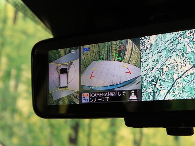 X 純正ナビ エマージェンシーブレーキ 全周囲カメラ クリアランスソナー レーンアシスト 禁煙車 ワンオーナー デジタルインナーミラー LEDヘッド スマートキー アイドリングストップ(4枚目)