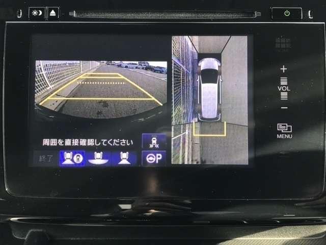 スパーダ・クールスピリット Hセンシング F純正ドラレコ 両側PSD 4WD LED サイドカーテンSRS F・S・B・全周囲カメラ シートヒーター 横滑り防止 純正メモリーインターナビ フルセグ 後席モニター スマートキー(12枚目)