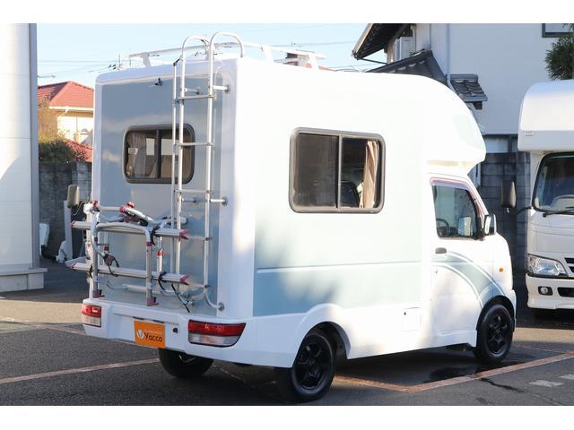 AZ-MAX製 ラクーン 4WD ソーラーパネル 1500Wインバーター サイドオーニング シンク ルーフベント サイクルキャリア サブバッテリー 走行充電(26枚目)