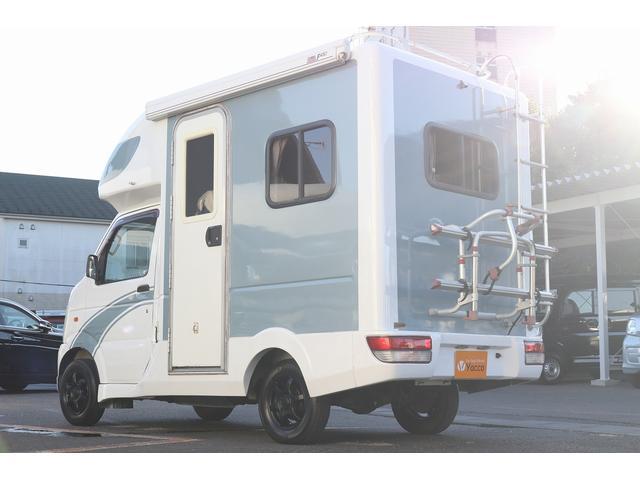 AZ-MAX製 ラクーン 4WD ソーラーパネル 1500Wインバーター サイドオーニング シンク ルーフベント サイクルキャリア サブバッテリー 走行充電(28枚目)