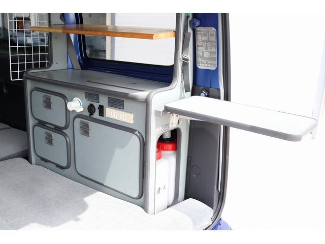 ターボ ホワイトハウス製 MY-BOX ターボ車 ナビ ETC バックカメラ ドライブレコーダー サブバッテリー FFヒーター 250Wインバーター シンク 外部充電 ポップアップルーフ(15枚目)