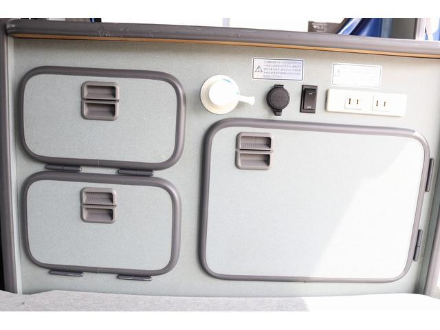 ターボ ホワイトハウス製 MY-BOX ターボ車 ナビ ETC バックカメラ ドライブレコーダー サブバッテリー FFヒーター 250Wインバーター シンク 外部充電 ポップアップルーフ(68枚目)