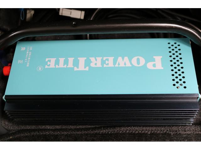 ターボ ホワイトハウス製 MY-BOX ターボ車 ナビ ETC バックカメラ ドライブレコーダー サブバッテリー FFヒーター 250Wインバーター シンク 外部充電 ポップアップルーフ(72枚目)