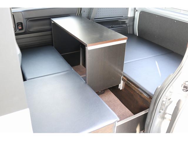 L ワンオフキャンパー 軽キャンパー ワンオーナー キーレス メモリーナビ バックカメラ 外部電源 100V 12V ポータブルバッテリー ポータブルバッテリー用ソーラーパネル ポータブル冷蔵庫(65枚目)