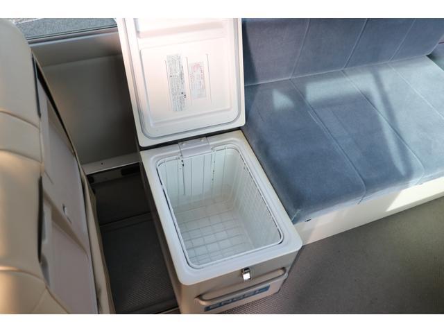 ワンオフキャンパー リヤ観音開き レカロシート ナビ ETC バックカメラ 1500Wインバーター FFヒーター 冷蔵庫 シンク 給排水タンク 外部充電 走行充電(76枚目)