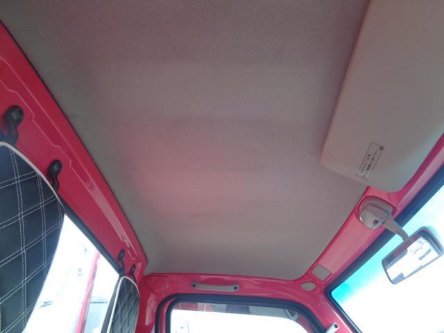 KU エアコン パワステ 色替塗装済(ピンク) アルミアオリ 社外シートカバー 5速MT 内装除菌消臭クリーニング済 車両総重1,170KG 車検R5年6月27日 ガソリン車(11枚目)