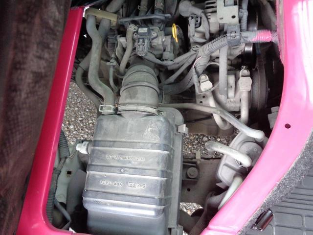 KU エアコン パワステ 色替塗装済(ピンク) アルミアオリ 社外シートカバー 5速MT 内装除菌消臭クリーニング済 車両総重1,170KG 車検R5年6月27日 ガソリン車(26枚目)