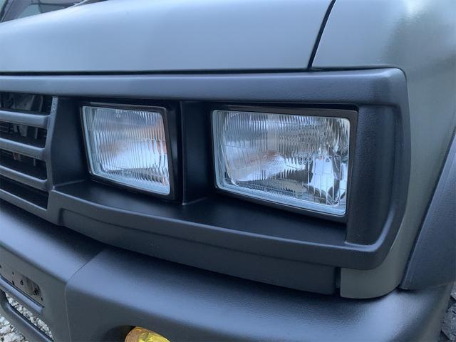 V 4WD ターボ 角目四灯 オリジナルカラー ダークグリーン チッピング(26枚目)