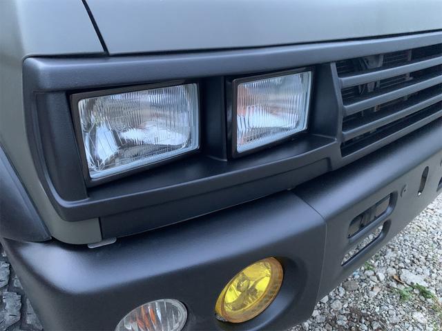 V 4WD ターボ 角目四灯 オリジナルカラー ダークグリーン チッピング(27枚目)