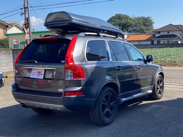 V8 TE AWD 本革パワーシート サンルーフ 純正HDDナビ フルセグTV バックモニター ETC キセノンライト フォグランプ ターンランプ キーレス ルーフレール 社外19インチAW 純正アルミスタッドレス付有(14枚目)