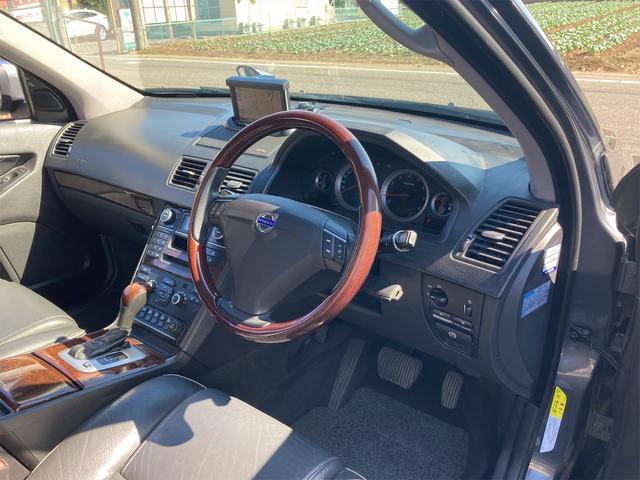 V8 TE AWD 本革パワーシート サンルーフ 純正HDDナビ フルセグTV バックモニター ETC キセノンライト フォグランプ ターンランプ キーレス ルーフレール 社外19インチAW 純正アルミスタッドレス付有(45枚目)
