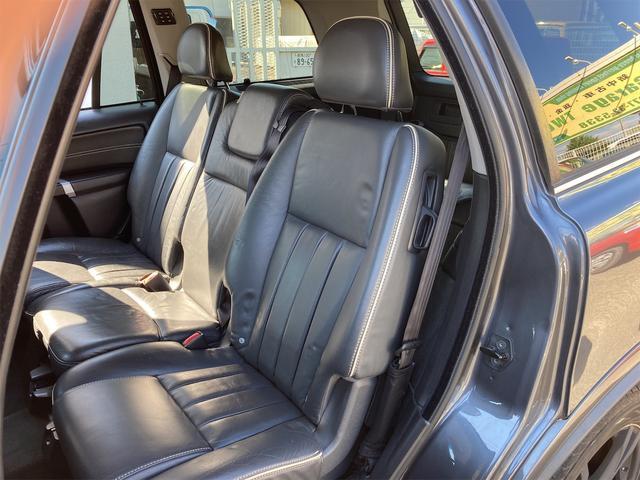 V8 TE AWD 本革パワーシート サンルーフ 純正HDDナビ フルセグTV バックモニター ETC キセノンライト フォグランプ ターンランプ キーレス ルーフレール 社外19インチAW 純正アルミスタッドレス付有(61枚目)