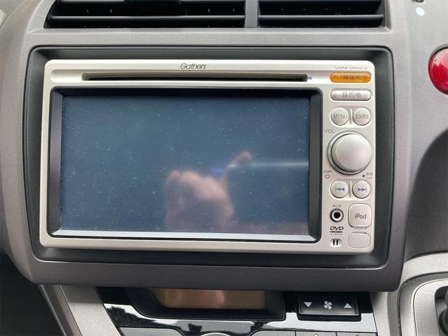 X スタイリッシュパッケージ ギャザーズナビ ETC キーレス CD DVD再生可 キセノンライト ドアバイザー リアワイパー ABS ダブルエアバッグ 7人乗り オートマ車(38枚目)