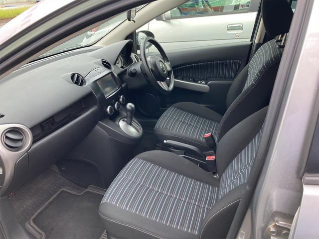 13C-V パイオニアCPP6ナビ CDオーディオ ドライブレコーダー スマートキー ドアバイザー リアワイパー フォグランプ ABS ダブルエアバッグ 社外14インチアルミ CVTオートマ車(26枚目)