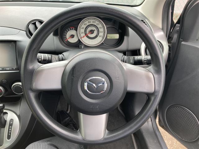 13C-V パイオニアCPP6ナビ CDオーディオ ドライブレコーダー スマートキー ドアバイザー リアワイパー フォグランプ ABS ダブルエアバッグ 社外14インチアルミ CVTオートマ車(28枚目)