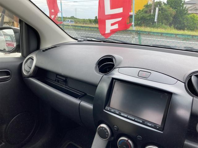 13C-V パイオニアCPP6ナビ CDオーディオ ドライブレコーダー スマートキー ドアバイザー リアワイパー フォグランプ ABS ダブルエアバッグ 社外14インチアルミ CVTオートマ車(37枚目)