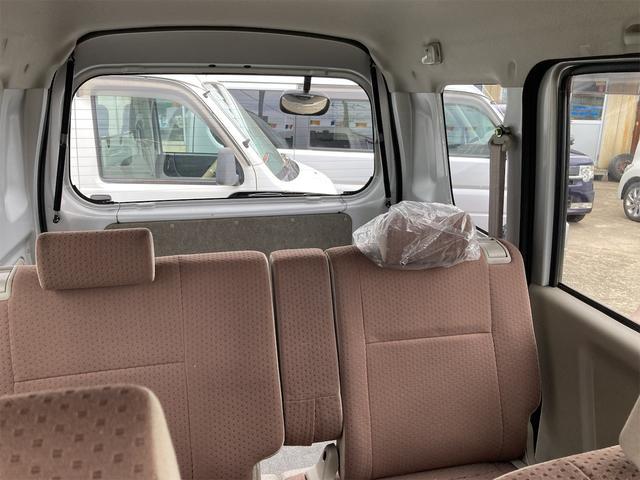 バスター キーレス MDCDオーディオ 両側スライドドア ABS ダブルエアバッグ ドアバイザー リアワイパー エアコン パワーステアリング パワーウインドウ オートマ車 最大積載量350kg(49枚目)