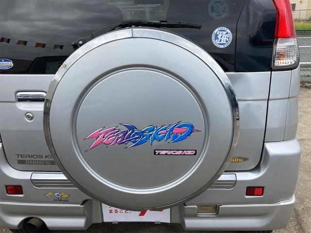 カスタムL キーレス CDオーディオ 背面タイヤ ドアバイザー リアワイパー リアスポイラー フォグランプ 純正15インチアルミ ダブルエアバッグ オートマ車(12枚目)