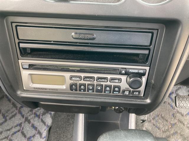 カスタムL キーレス CDオーディオ 背面タイヤ ドアバイザー リアワイパー リアスポイラー フォグランプ 純正15インチアルミ ダブルエアバッグ オートマ車(46枚目)