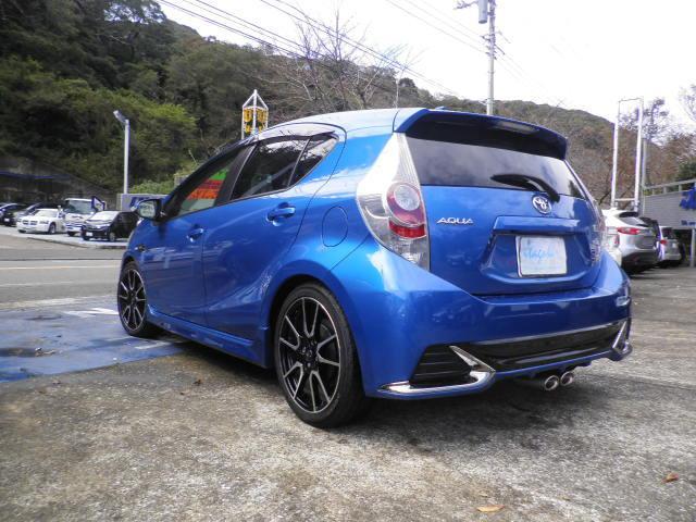 「トヨタ」「アクア」「コンパクトカー」「神奈川県」の中古車4