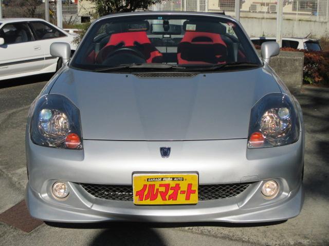トヨタ MR-S Sエディション 後期型 6速MT 純正エアロ 車高調付