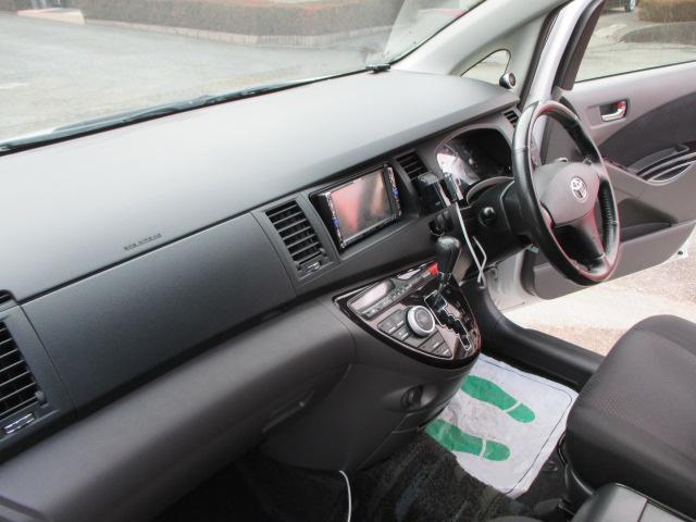 トヨタ アイシス プラタナ ワンオーナー 純正エアロ HID 自動スライドドア