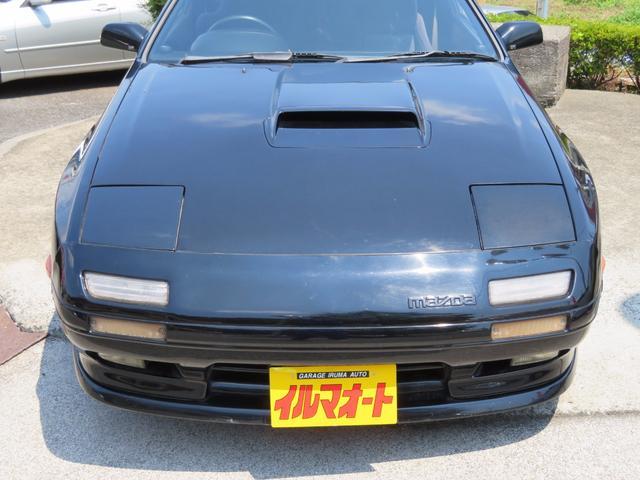 マツダ サバンナRX-7 GT-R 後期最終型 5速MTターボ マツダスピードサス付