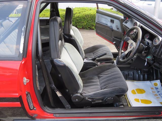 トヨタ カローラレビン GT APEX 後期型 5速MT 社外マフラー ローダウン