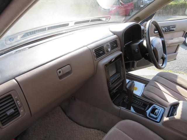 ブロアムVIP ターボ Cタイプ 3.0ターボ/ワンオーナー車/禁煙車/パワーシート/タイミングベルト交換済み(28枚目)
