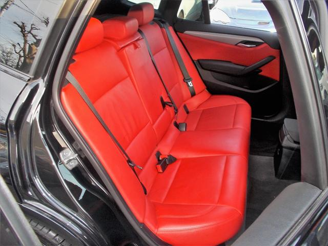BMW BMW X1 sDrive20i・Mスポーツ禁煙ワンオーナー赤革シート記簿