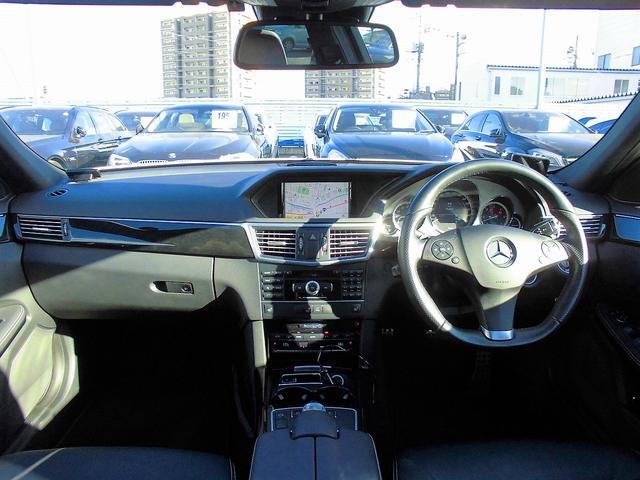 メルセデス・ベンツ M・ベンツ E350BTワゴンAVG AMG-SP SR 黒革 HDD