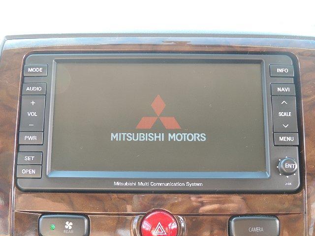 三菱 デリカD:5 エクシードII 禁煙車HDDナビ左パワスラETCBカメラ