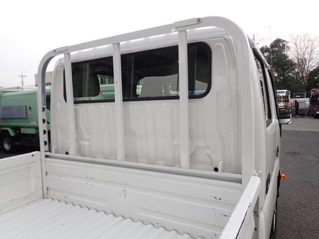 Wキャブ スチール平 高床 4WD 積載1t(10枚目)