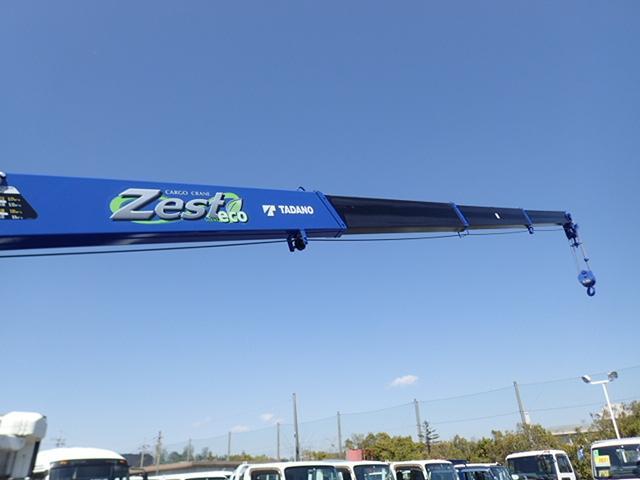 2.9t吊4段クレーン 木平 高床ワイドロング 積載2t(12枚目)