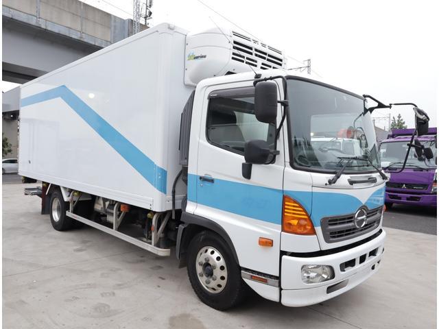 低温冷凍車 エアサス パワーゲート 積載3t(2枚目)