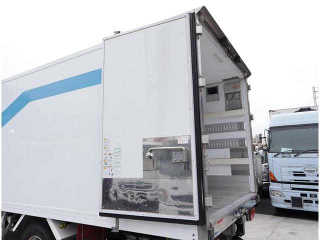 低温冷凍車 エアサス パワーゲート 積載3t(17枚目)