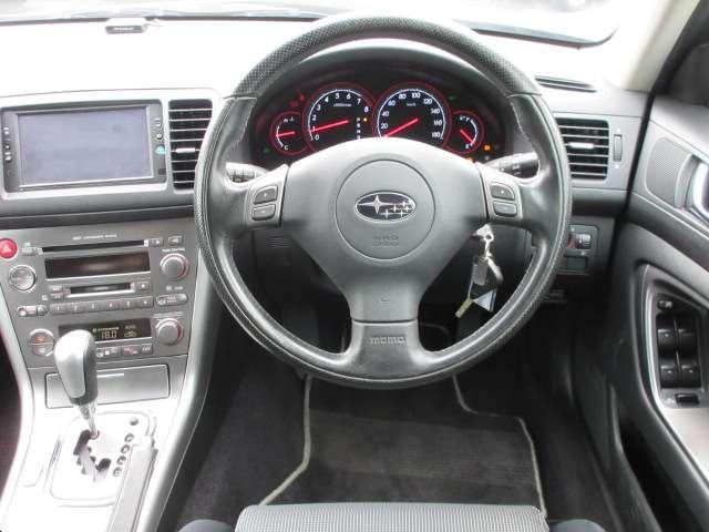 スバル レガシィツーリングワゴン GT 4WD 社外DVDナビ 電動シート ETC 純正アルミ