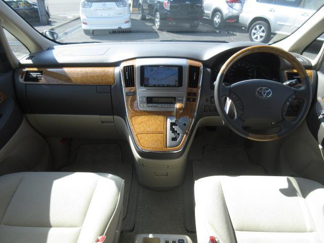 トヨタ アルファードV MX Lエディション ツインサンルーフ 社外ナビ 両側PSD