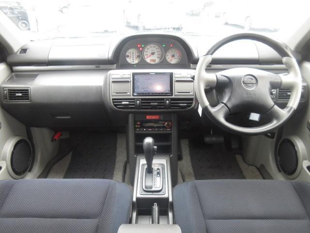 日産 エクストレイル ライダー ステージ2 4WD フルセグナビ 社外アルミ