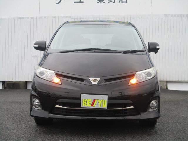 トヨタ エスティマ アエラス 社外1セグナビ 左側PSD ETC クルコン