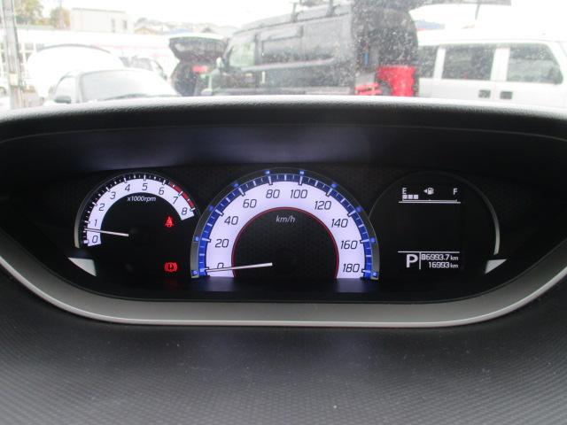 ハイブリッドMV 禁煙車 社外SDナビ バックカメラ 衝突被害軽減S クルーズコントロール レーンアシスト シートヒーター 左側電動スライドドア 純正15インチアルミ LEDヘッドライト フォグ オートライト(25枚目)